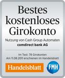Comdirect Auszeichnung kostenloses Konto