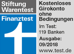 Girokonto Norisbank Auszeichnung Stiftung Warentest